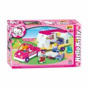 Unico Hello Kitty Auto met Caravan