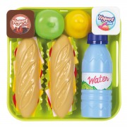 Ecoiffier 100% Chef Sandwich Set met Dienblad