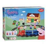PlayBIG Bloxx Peppa Pig Treinstation