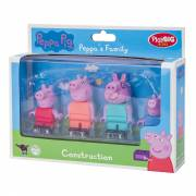 PlayBIG Bloxx Peppa Pig - Peppa's Familie