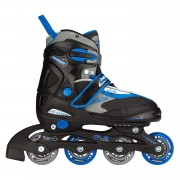 Inline Skates Junior Semi-Softboot Zwart