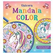 Unicorn Mandala Color Kleurboek