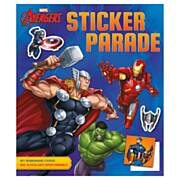Avengers Sticker Parade