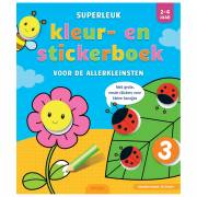 Superleuk Kleur- en Stickerboek voor de Allerkleinsten