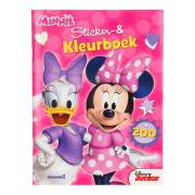 Minnie Mouse Sticker- en Kleurboek