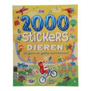 Stickerboek Dieren, 2000 stickers