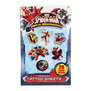 Spiderman Tattoo Set