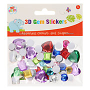 3D Stickers Diamant