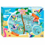 Totum Tropical Duo Knutselset, 2in1