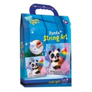 Totum Bright Lights - Maak je eigen Panda String Art