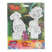 Trolls Pop-Out Figuren
