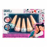 Create It! Glinsterende Nagellak IJshoorn, 5st.
