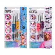 Create It! Nagellak 3in1 Pennen, 2st - Galaxy & Neon
