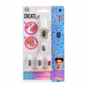 Create It! Nagellak Set met Glitters