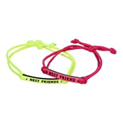 BFF Armband met Plaatje, 2st.