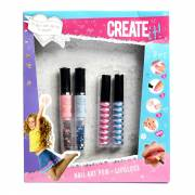 Create It! Nail Art Pen met Lipgloss