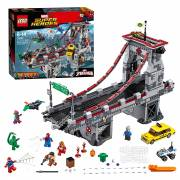 LEGO Super Heroes 76057 Web Warriors Ultieme Brugduel