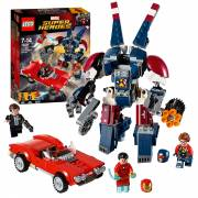 LEGO Super Heroes 76077 Iron Man: Detroit Steel valt aan