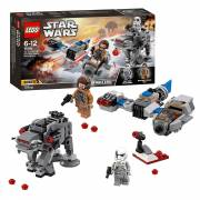 LEGO Star Wars 75195 Ski Speeder vs. First Order Walker Micr