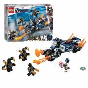 Lego Super Heroes 76123 Captain America Aanval Outriders