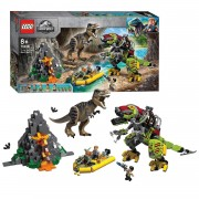 LEGO Jurassic World 75938 T.Rex vs. Dinomecha Gevecht