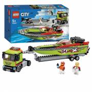 LEGO City 60254 Raceboot Transport