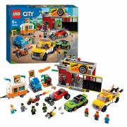 LEGO City 60258 Tuning Workshop