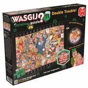 Wasgij Christmas 11 - Double Trouble, 1000st.