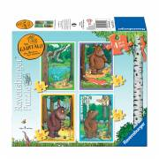 The Gruffalo Puzzel, 4in1
