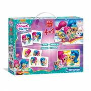Clementoni Edukit Shimmer and Shine, 4in1