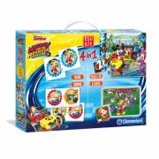 Clementoni Edukit Mickey Roadster Racers, 4in1