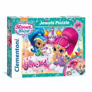 Clementoni Jewels Puzzel Shimmer & Shine, 104st.