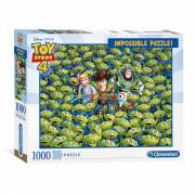 Clementoni Impossible Puzzel Toy Story, 1000st.