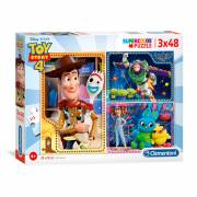 Clementoni Puzzel Toy Story, 3x48st.