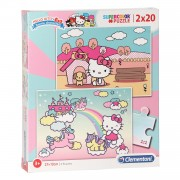 Clementoni Puzzel Hello Kitty, 2x20st.