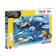 Clementoni National Geographic Puzzel - Oceaan, 104st.