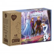 Clementoni Play for Future Puzzel - Disney Frozen, 3x48st.