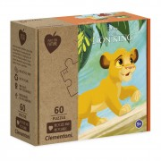 Clementoni Play for Future Puzzel - Lion King, 60st.