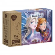 Clementoni Play for Future Puzzel - Disney Frozen, 104st.