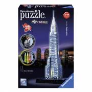 Ravensburger 3D Puzzel - Chrysler Building Night Edition