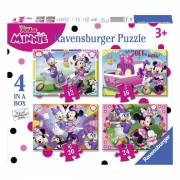 Minnie Happy Helpers Puzzel, 4in1