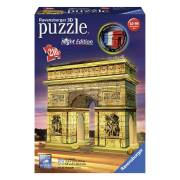 Ravensburger 3D Puzzel Night Edition - Arc de Triomphe