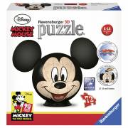 Puzzelbal Mickey Mouse met Oren, 72st.