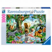Avonturen in de Jungle Puzzel, 1000st.