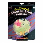 Glow in the Dark Sterren Kleur Superset, 150dlg.