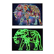 Diamond Painting Glow in the Dark - Olifant