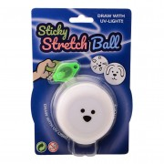Sticky Stretch Globbles Bal met UV lampje