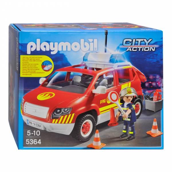 Playmobil 5364 Brandweercommandant met dienstwagen
