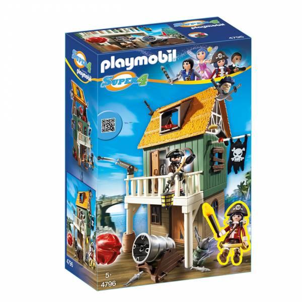 Playmobil 4796 Super 4 Geheime Piratenvesting met Ruby Red