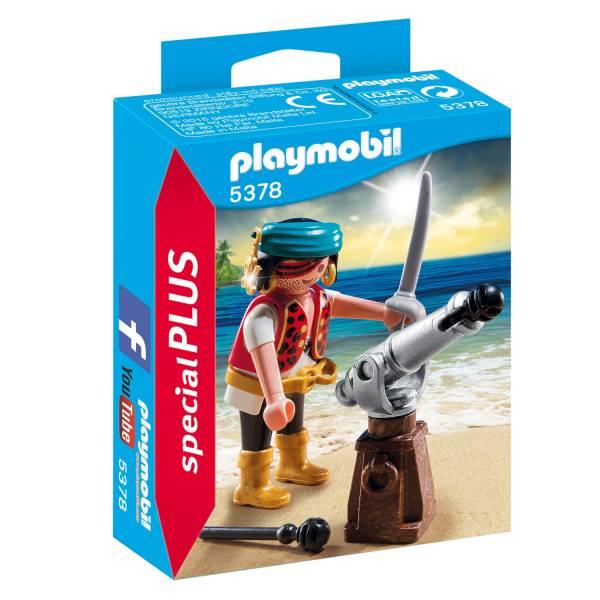 Playmobil 5378 Piraat met Scheepskanon